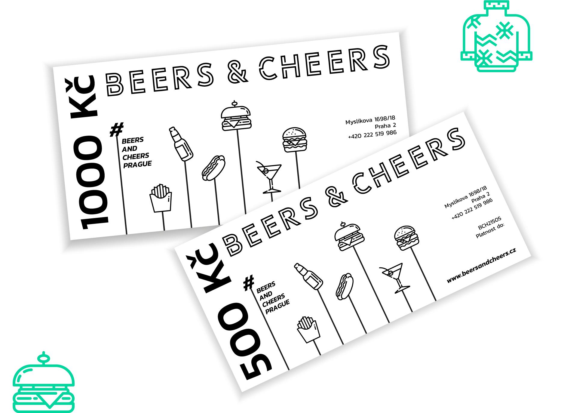 Beers & Cheers voucher